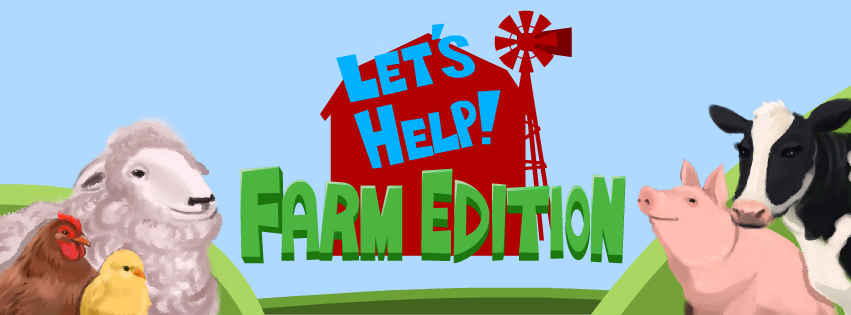Cover Photo Let's Help Farm Edition (Facebook)